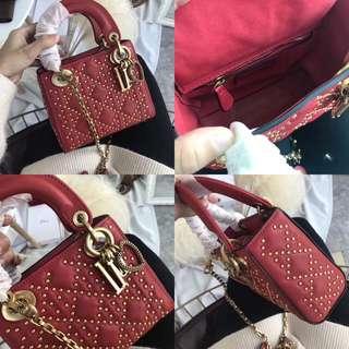 Dior studded bag
