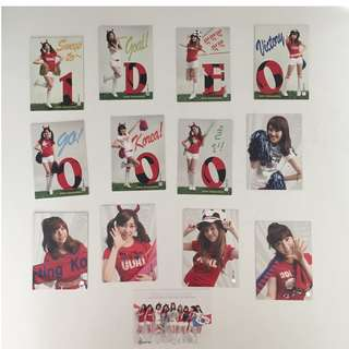 Girls' Generation (SNSD) Star Collection Cards S2