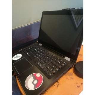 Lenovo Yoga Laptop i7 w Nvidia GPU Matte Black