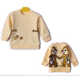 迪士尼擁抱系列衛衣 (鋼牙與大鼻款) 110碼