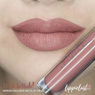 Wardah Exclusive Matte Lip Cream No. 11 Oh So Nude