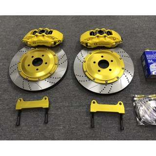 LS Performance 6 POT FRONT BIG BRAKE KIT (355MM ROTOR)
