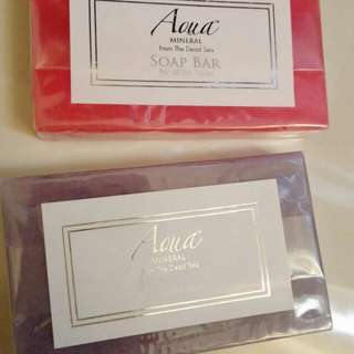 Aqua mineral from the dead sea soap bar