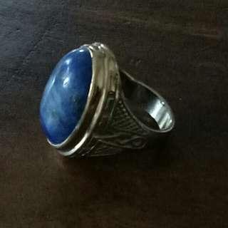 Lapiz Lazuli Silver Ring
