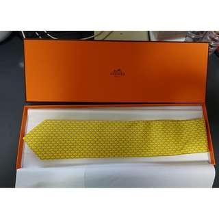 全新法國 Hermes 絲質領呔 Tie