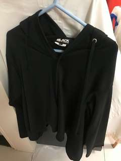 CDG Black 女裝 型格蝙蝠袖外套