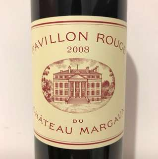 2008 Pavillon Rouge from Margaux, France [Chateau Margaux]