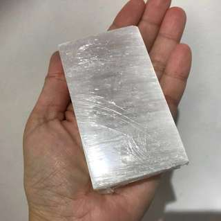 2 pieces set Selenite charging plate (thick)