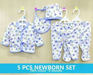 5-1 new born set (4 available color)