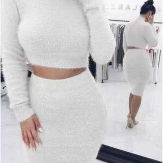 New Sexy Dress Women Sweater Winter Slim Knitted Dress 2018