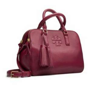美國專櫃 TORY BURCH Thea Small Rounded Double-Zip Satchel