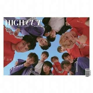 [PREORDER] Wanna one X High cut magazine