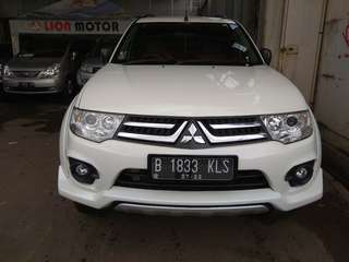 Pajero sport exceed at 2014 putih