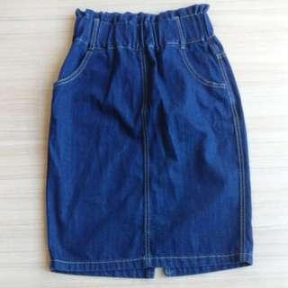 Jeans skirt (Knee length)