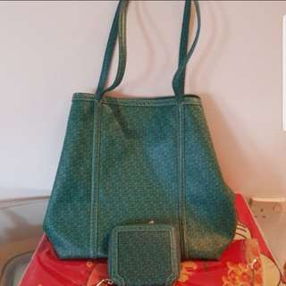 💯Authentic DKNY TOTE BAG and wallet