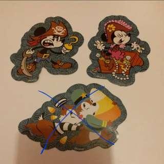 Mickey米奇/Minnie美妮/米妮/Disney/Disneyland/迪士尼貼紙