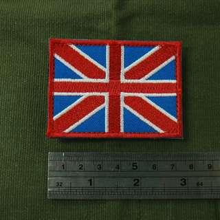 全新英國旗魔術貼章