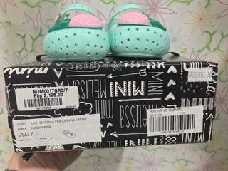 Mini Melissa Furadinha Shoes for Baby Girl