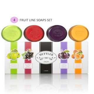 Mettler Fruit Line Soaps Set