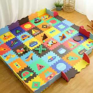 Playmat playgym puzzle foam baby chidren safe playground