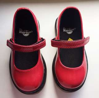 BN Dr Martens Tully Maryjanes in red