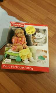 Fisher price 2 in 1 Portable potty