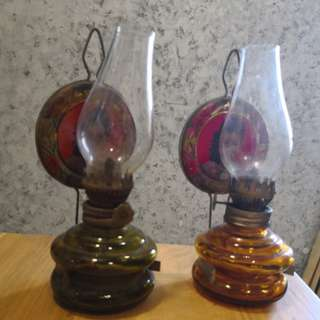 Kerosene Lamp (selling as a pair)