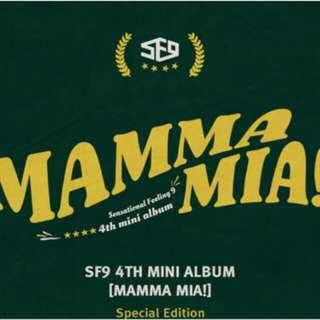 [LIMITED TIME PO] SF9 - MAMMA MIA! SPECIAL EDITION