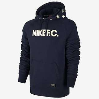 全新 Nike FC Star Hoodies Navy Color Size XL