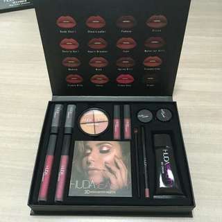 Huda beauty makeup set