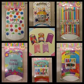 Birthday Party Gift bag / Goodie bag