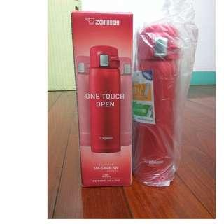 象印保溫瓶(全新) SM-SA48-RW  480mL