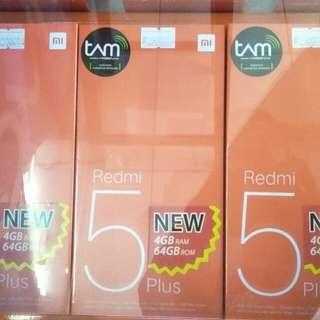 Xiaomi Redmi 5Plus Ram 6/64 bisa dikredit cepat mudah