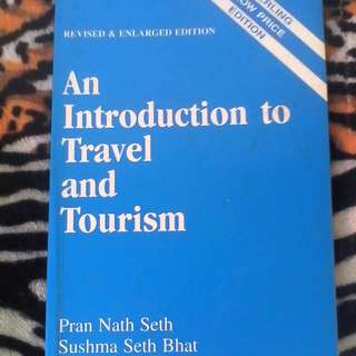 Introduction to Travel and Toursim