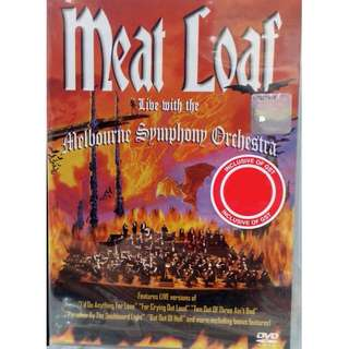 Meat Loaf Live With The Melbourne Symphony Orchestra DVD