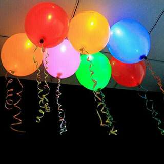 LED Balloons Set