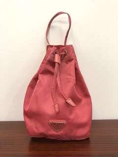 📢📢📢Prada 粉紅色小索繩袋