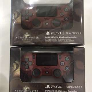 MHW New & Seal PS4 Controller