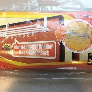 大號掛衣架 Multi-function window, door Hanger Rack