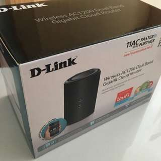 D-link wifi router hub