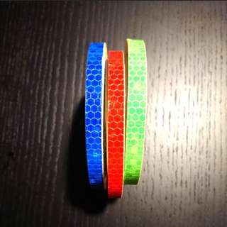 Like For Likes Escooter Ebike Bicycle Motorcycle car reflective tape 8 metre roll