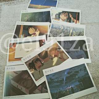 (Free Shipping) Your Name (Anime) Postcard Set of 10