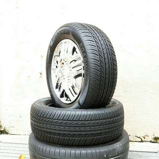 Used 215/60 R16(Sold) Roadwear (2pcs) 🙋‍♂️