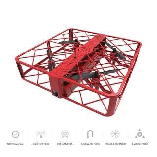 Zhicheng Z8 Camera Drone - 720P Camera, FVP, 3D Flip, Headless Mode, One Key Return, Alitutde Hold (Red) (CVAIA-G885)