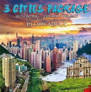 HONGKONG + ZHUHAI + MACAU