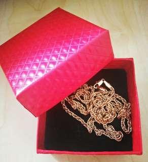 Gold necklace 22k gold filled