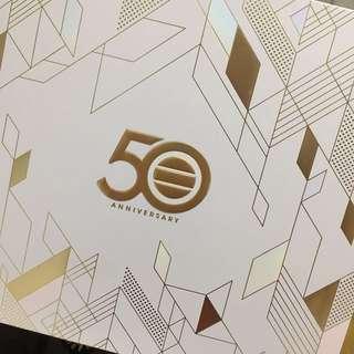 全新 TVB 50週年紀念郵票套裝