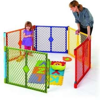 Portable Playyard with 6 panel