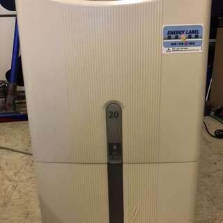 Hitachi 20L dehumidifier 抽濕機