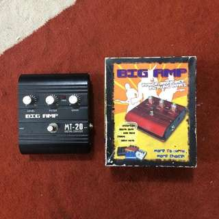 Big Amp MT-20 Metal Distortion Driver Guitar Effect